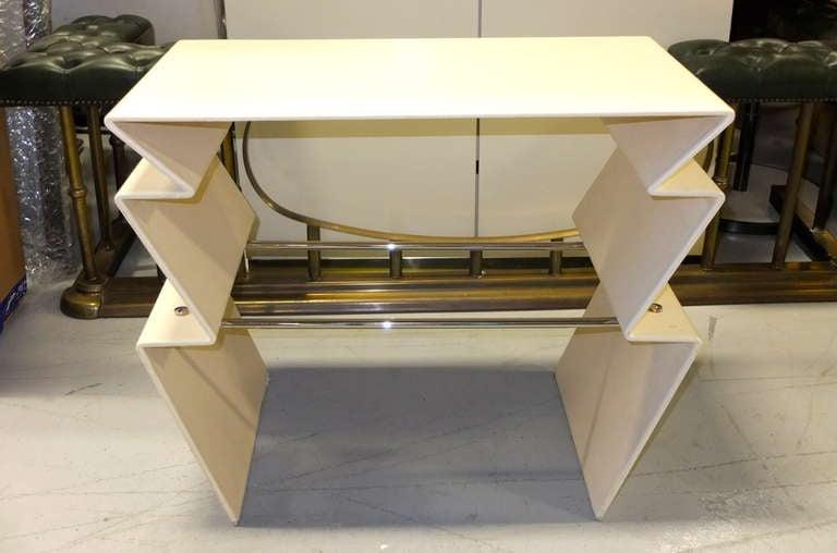 Mid-Century Modern LeavittWeaver Lighting Table for Randolph & Heine For Sale