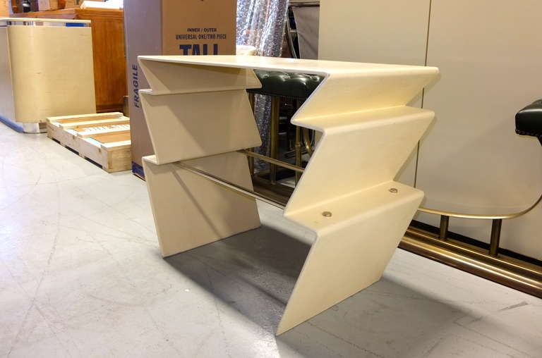 LeavittWeaver Lighting Table for Randolph & Heine In Excellent Condition For Sale In Hingham, MA