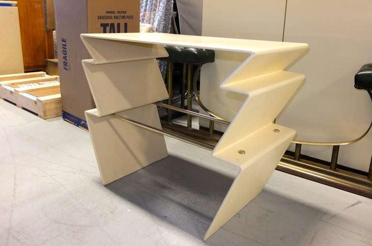 Late 20th Century LeavittWeaver Lighting Table for Randolph & Heine For Sale