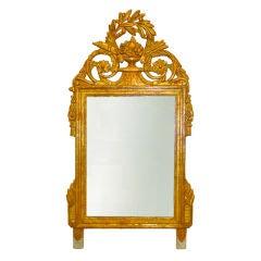 Period French Louis XVI Giltwood Mirror