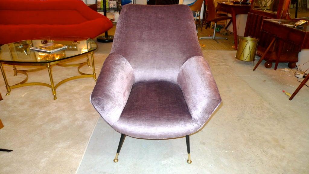 Petite Italian Club Chair For Sale 5