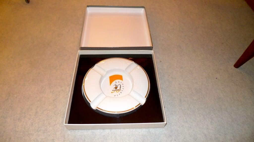Cohiba Special Edition 30th Anniversary Cigar Ashtray For Sale 3