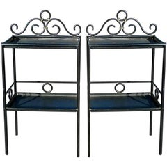 Pair of French 1950's Night Stands