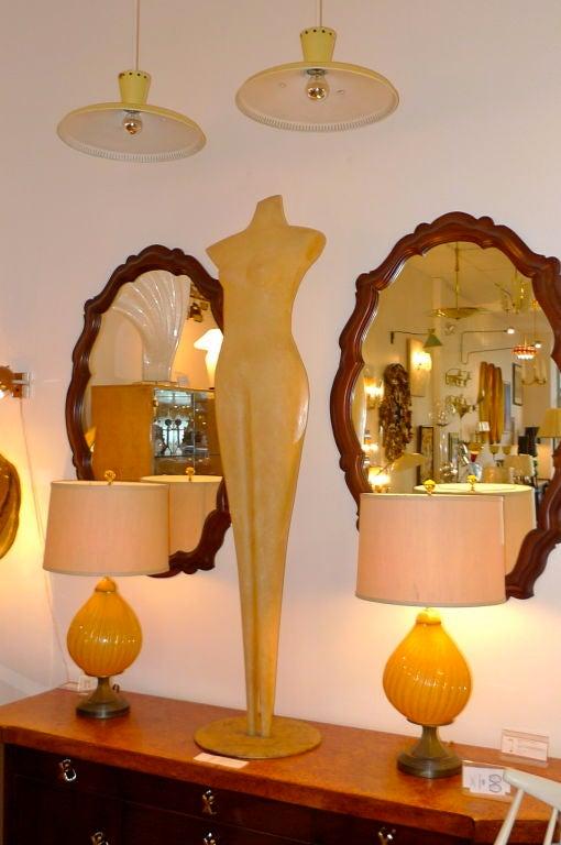 Abstract Mannequin Fiberglass Sculpture For Sale 3