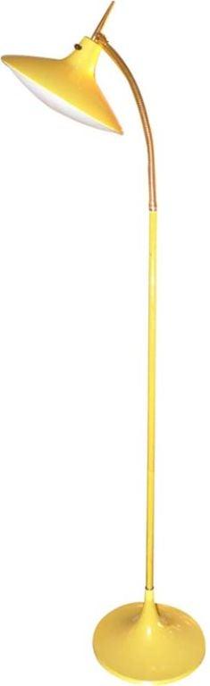 Laurel ufo head gooseneck floor lamp for sale at 1stdibs for 6 head gooseneck floor lamp