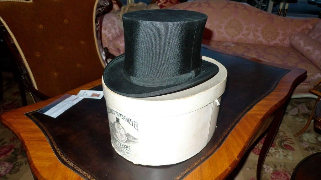 Black Moray Silk Opera Hat 4