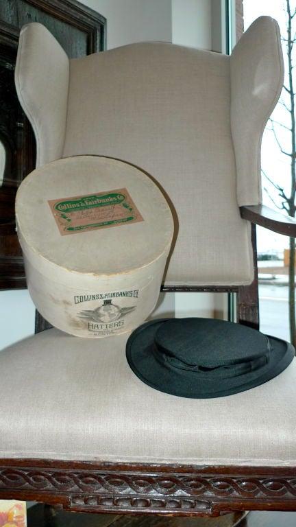 Black Moray Silk Opera Hat 7