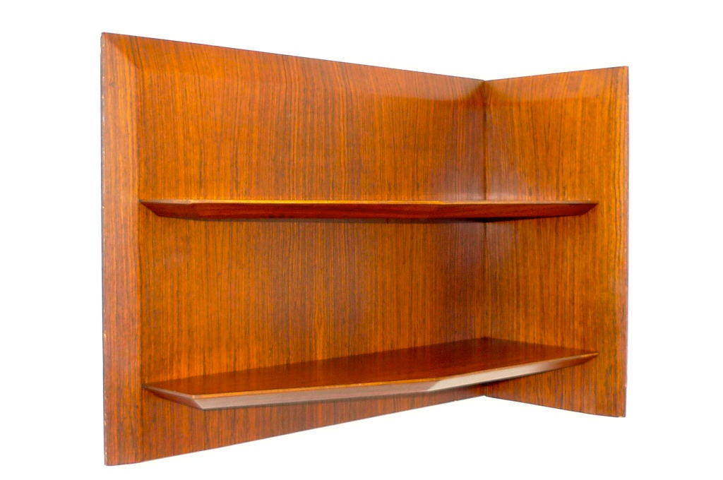Italian Angled Corner Shelf For Sale At 1stdibs