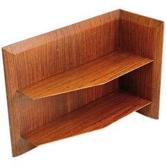 Italian Angled Corner Shelf