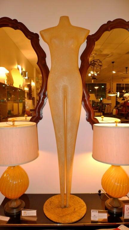 Abstract Mannequin Fiberglass Sculpture For Sale 1