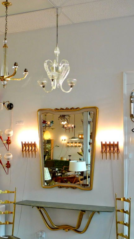 A Pair of Sconces attributed to Giò Ponti 9
