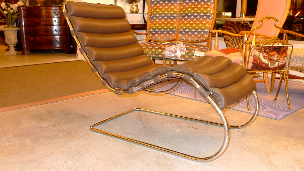 mr chaise lounge by mies der rohe for knoll studio at 1stdibs