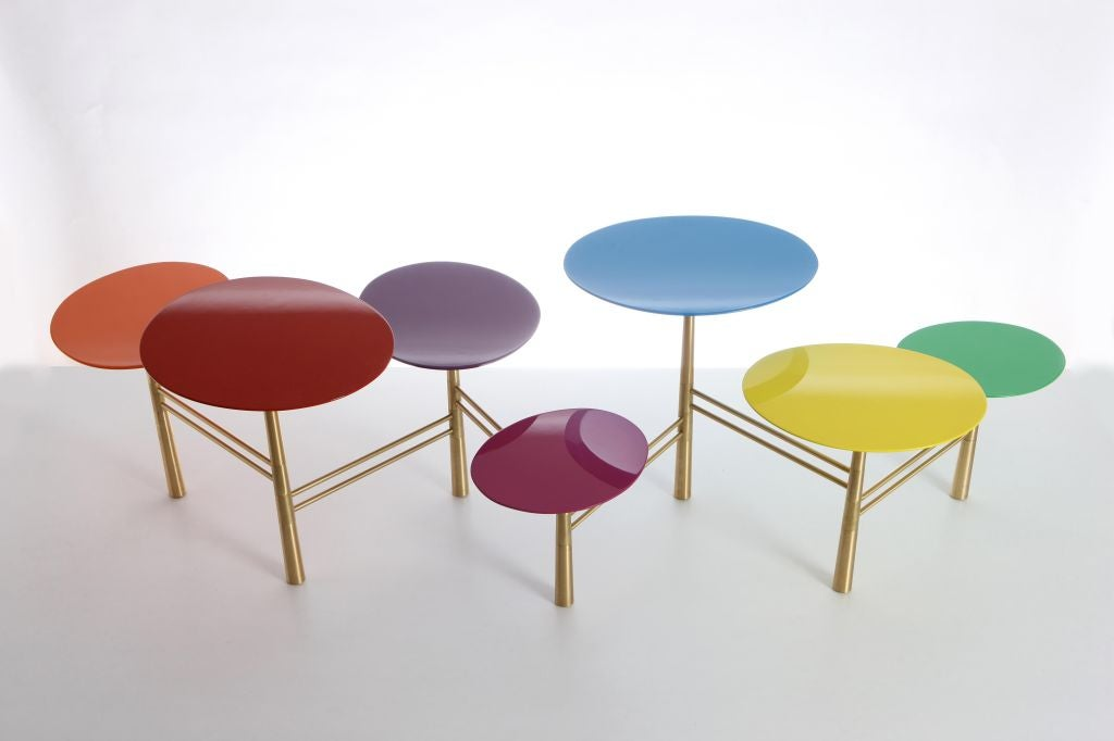 The Pebble Table by Nada Debs (signed) For Sale 2