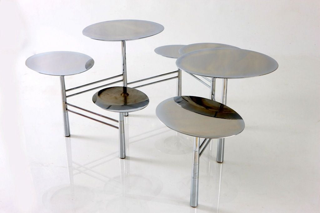 The Pebble Table by Nada Debs (signed) For Sale 1