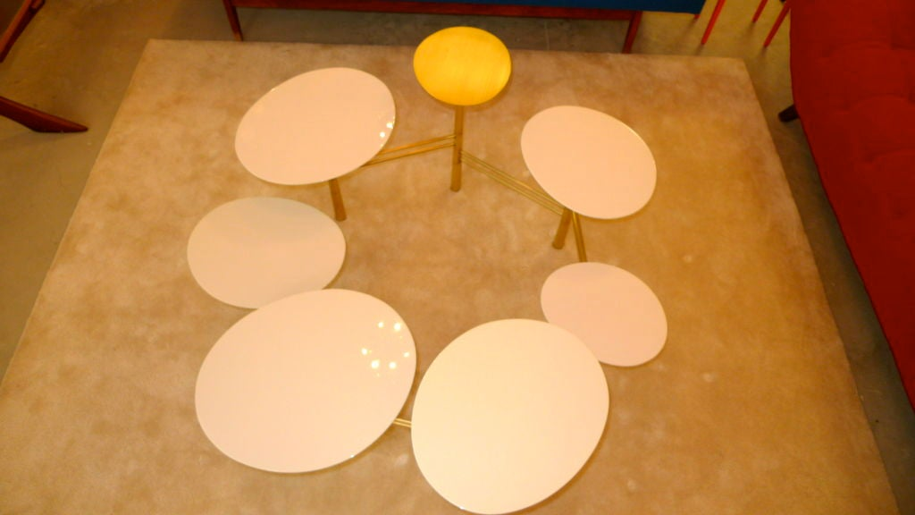 Lebanese The Pebble Table by Nada Debs (signed) For Sale