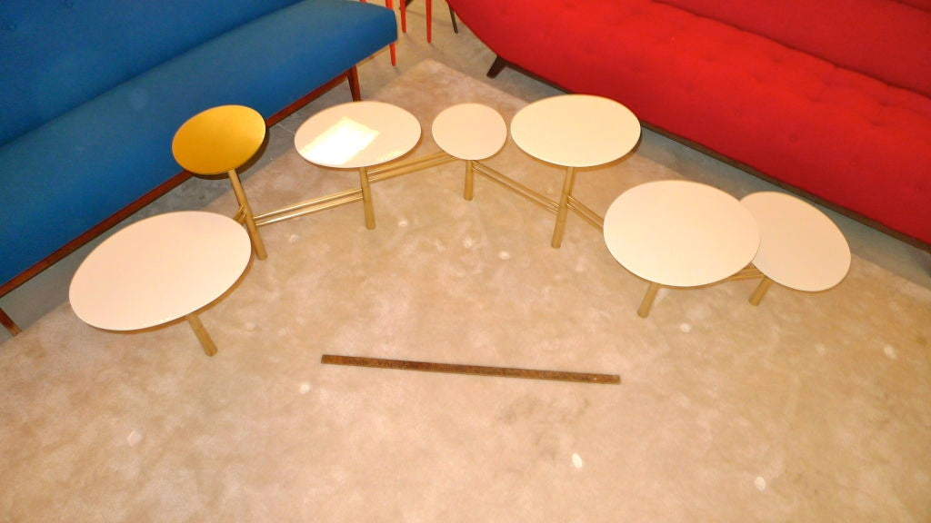 The Pebble Table by Nada Debs (signed) In Excellent Condition For Sale In Hingham, MA