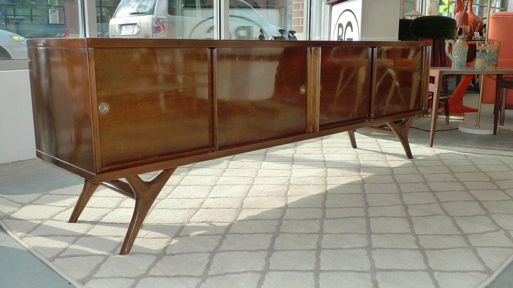 Long Low Brazilian Sideboard Credenza 5