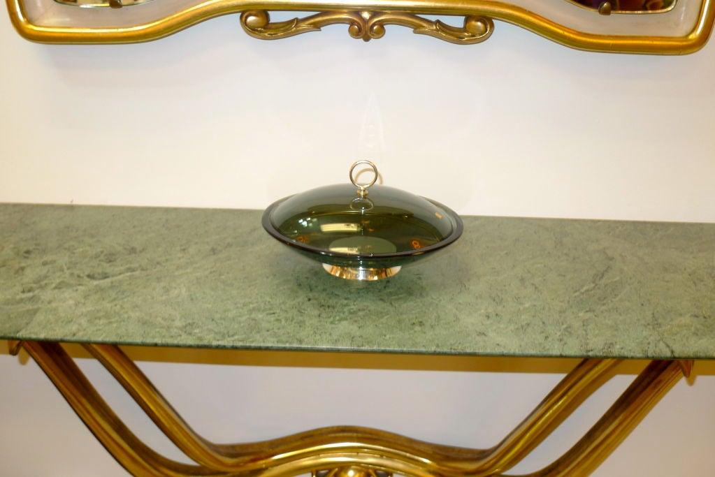 Italian Fontana Arte Lidded Bowl by Max Ingrand For Sale