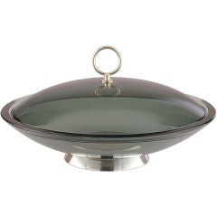 Fontana Arte Lidded Bowl by Max Ingrand