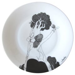 Christian Broutin Hand-Painted Porcelain