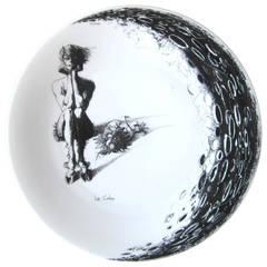 Haviland ,Le Colas, Limited Edition Hand-Painted Porcelain Plate