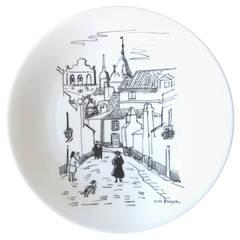 Haviland, Yves Brayer Limited Porcelain Hand-Painted