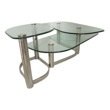 Coffee table 3 levels at 1stdibs for 3 level coffee table