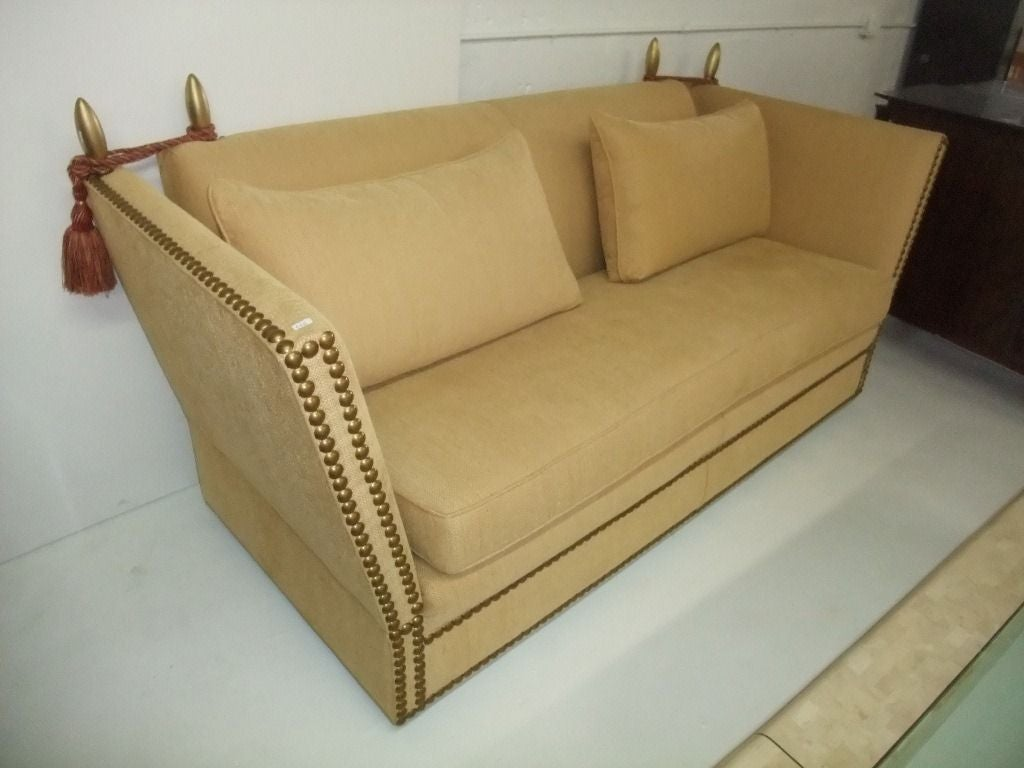 Elegant and comfortable sofa for sale at 1stdibs for Comfy couches for sale