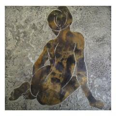 Pictoral Metal Tile  ( Philip&kelvin)LAVERNE