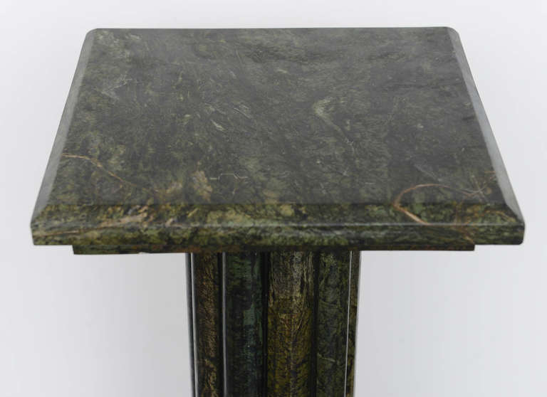 Italian Neoclassical  Marble Pedestal For Sale