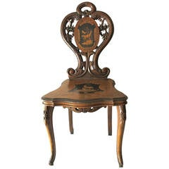 Black Forest  antique 19th cty Chair