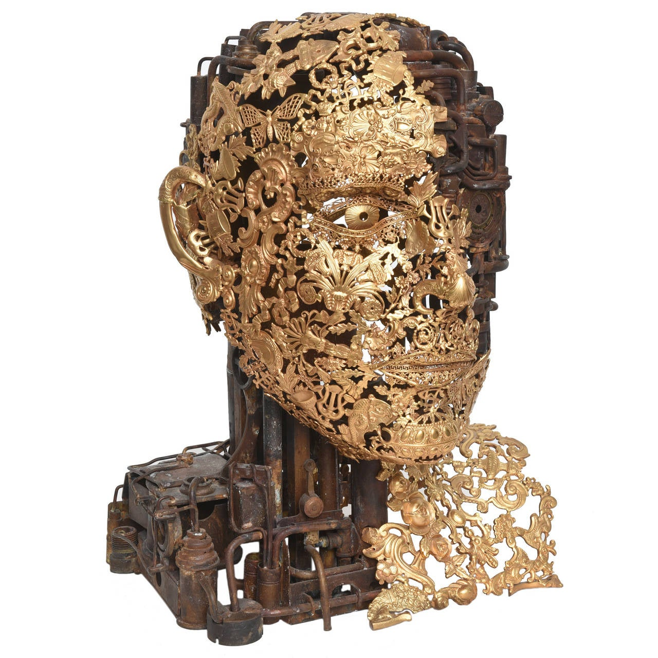 "Bronze""Numero 1"" Sculpture by Alain Bellino For Sale"