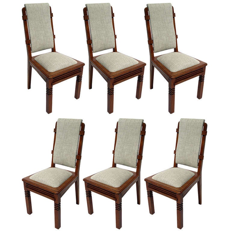 Chairs Designed by Charles Dudouyt