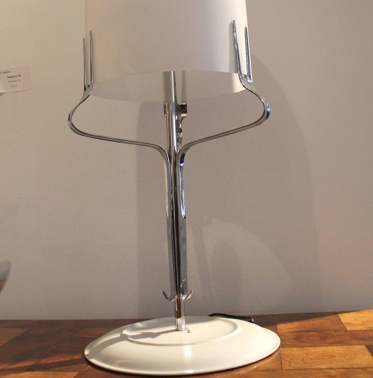 Mid Century Michele De Lucchi Italian Design White Table