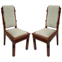 Chairs by Charles Dudouyt