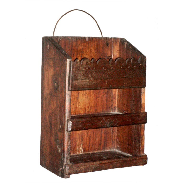 Primitive Jamaican Spice Rack At 1stdibs
