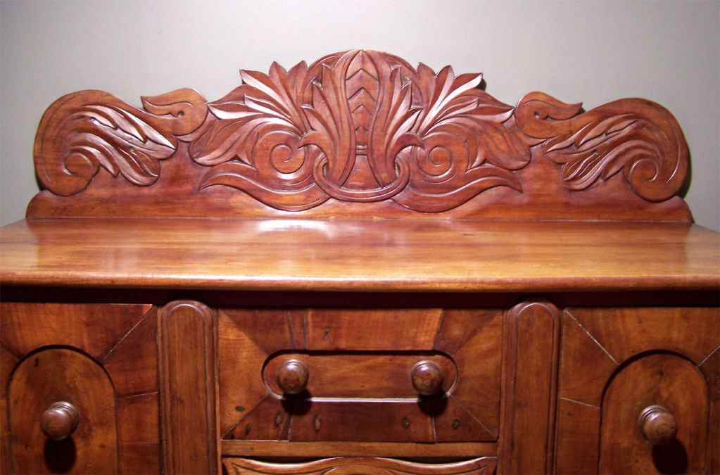 Early 19th c caribbean mahogany sideboard or cupping table for Case in stile british west indies