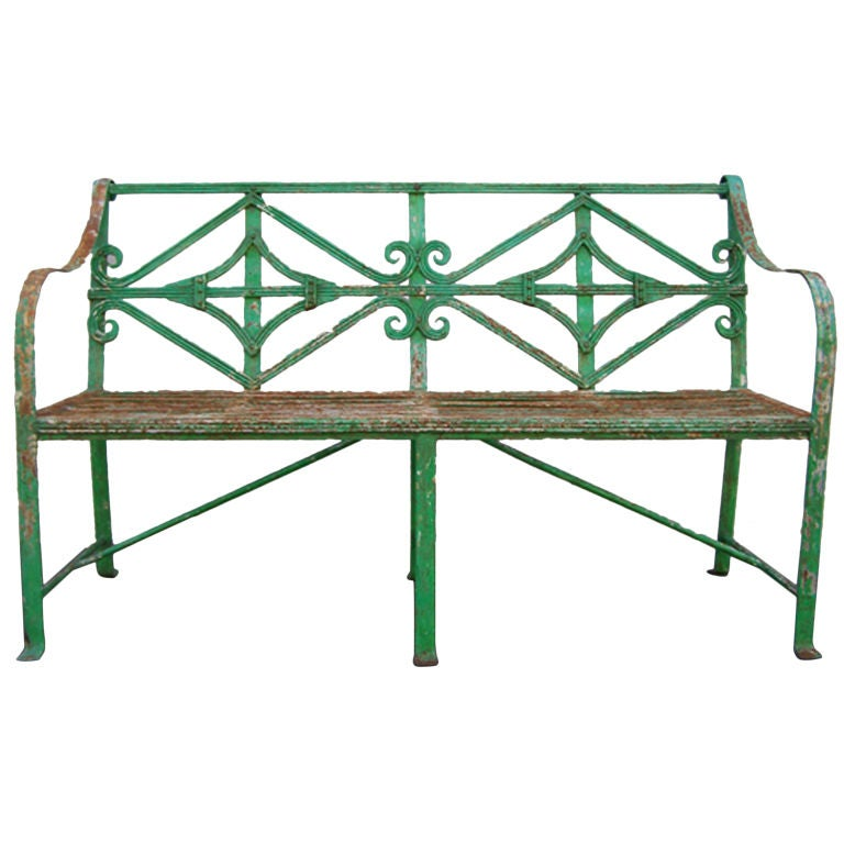English Adams Garden Bench
