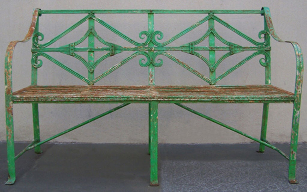 English Adams Garden Bench 2