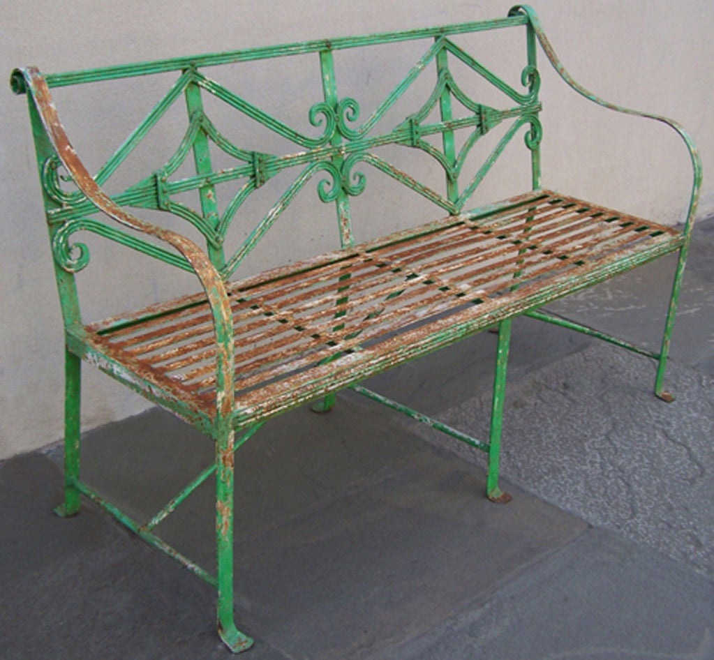 English Adams Garden Bench 3