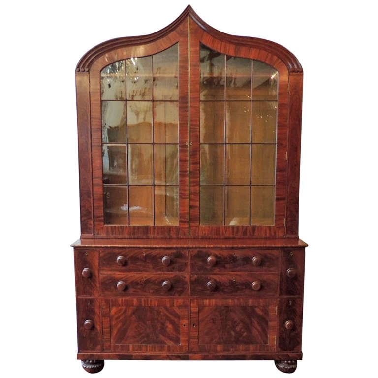 19th Century New Orleans Plantation Bookcase At 1stdibs