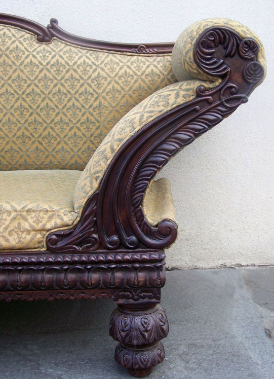 Early 19th C Anglo Indian Sofa At 1stdibs