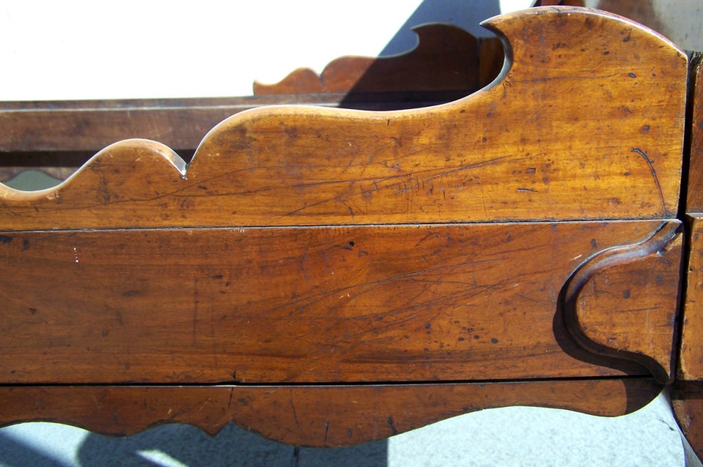 French Provincial Rare Labeled Early 19th C Haitian French Colonial Day Bed from the West Indies For Sale