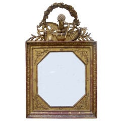 Early 19th C French Napoleonic Mirror Frame Commemorating the Egyptian Campaign