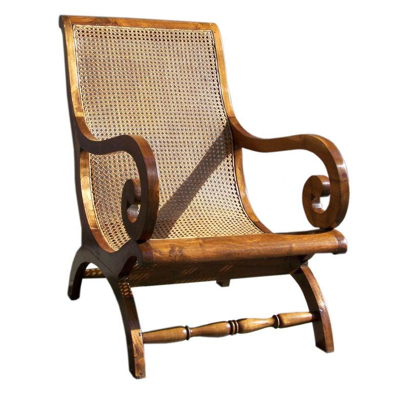 West Indies Campeachy Chair At 1stdibs