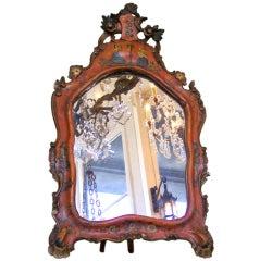 18th century Venetian Chinoiserie Mirror
