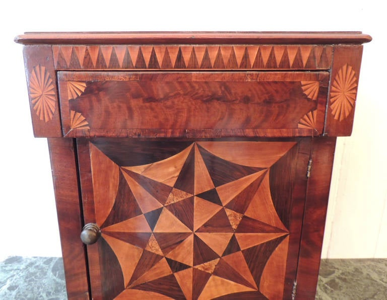 19th C Jamaican Minature Spice Cabinet, attributed to Ralph Turnbull For  Sale 2 - 19th C Jamaican Minature Spice Cabinet, Attributed To Ralph Turnbull