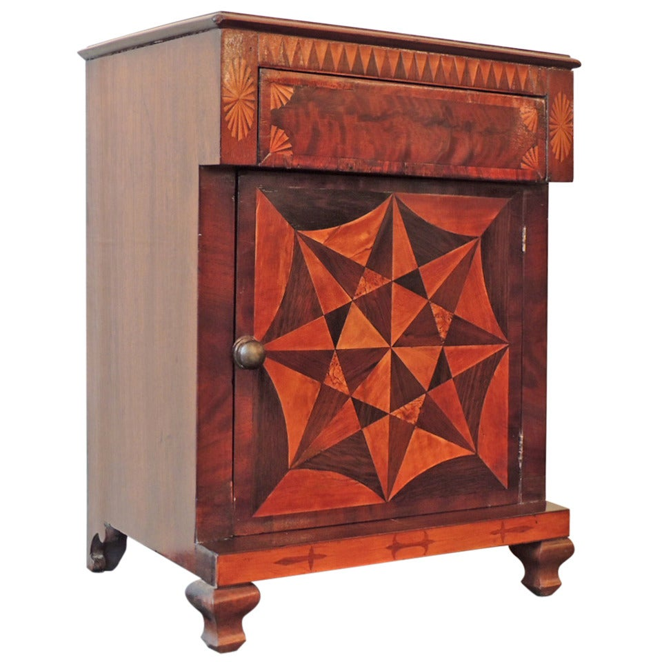 19th C Jamaican Minature Spice Cabinet, attributed to Ralph Turnbull