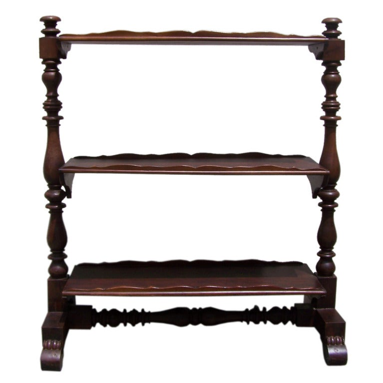 Rare 1820s Caribbean Jamaican Server Or Wagon For Sale At