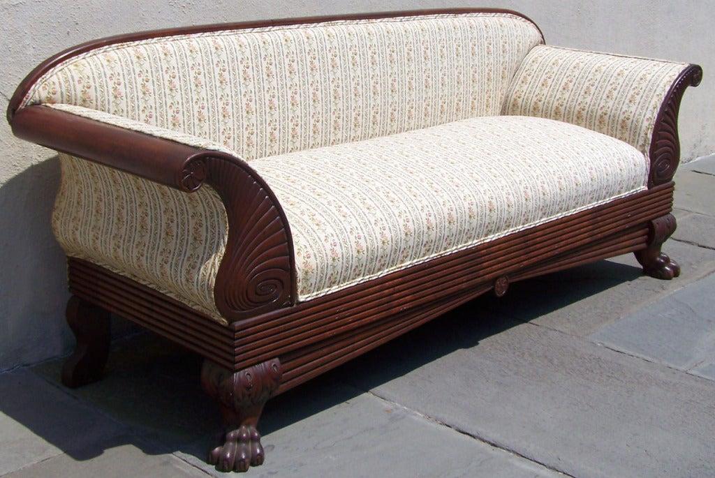 Rare 1830s West Indies Sofa At 1stdibs